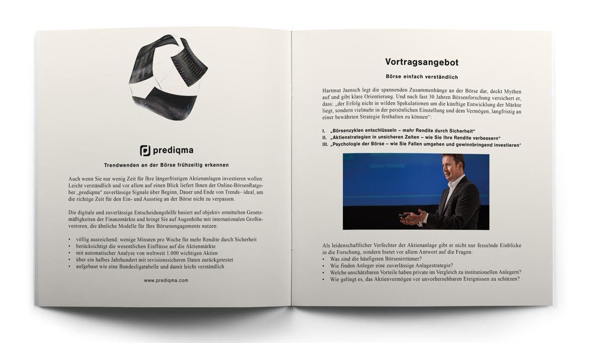Seiten vier und fünf der Broschüre von Hartmut Jaensch auf hartmutjaensch.com