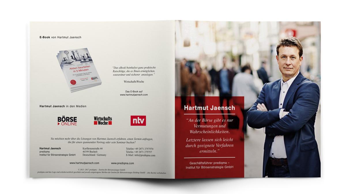 Titel und Rückseite der Broschüre von Hartmut Jaensch auf hartmutjaensch.com