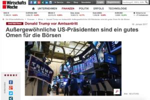 Börse, Aktien, USA, Präsident, Donald Trump