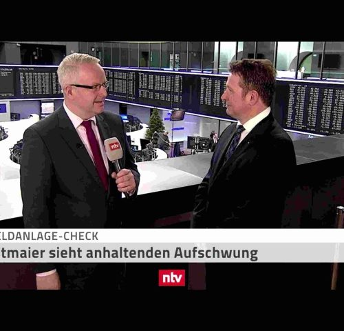 <small><em> 3. Januar 2019: n-tv Telebörse</em></small><br/>Hartmut Jaensch im n-tv-Geldanlage-Check: Ausblick auf das Börsenjahr 2019