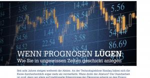 Prognose, prediqma, Risiko, Aktien, Nasdaq, Ökonomie, Börse, bdvb, Hartmut Jaensch, Aktienmarkt, Finanzmarkt, Geld