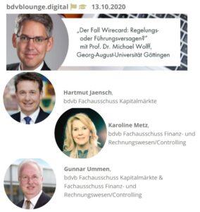 Hartmut Jaensch zum Wirecard-Skandal
