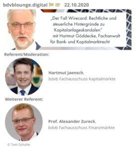 Hartmut Jaensch zu Anlegerkrisen