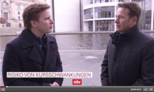 Hartmut Jaensch im ntv-Nachrichten Interview zu Bitcoins
