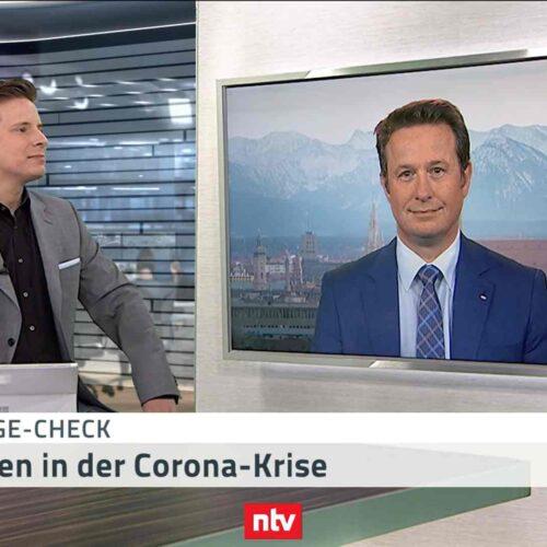 <small><em> 18. Mai 2020: n-tv Telebörse</em></small><br/> Hartmut Jaensch: Der Aufwärtstrend ist sehr nachhaltig. Dax 14000 in 2020!