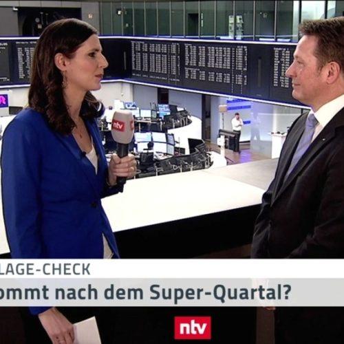 <small><em> 29. März 2019: n-tv Telebörse</em></small><br/>Hartmut Jaensch im n-tv-Geldanlage-Check: Was kommt nach dem Super-Quartal?